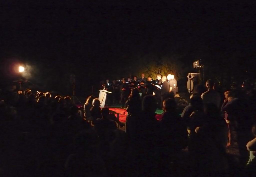 Notte delle Angane nel bosco di Tramonti