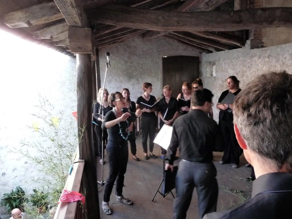 Concerto sul ballatoio (sig.a Sina)