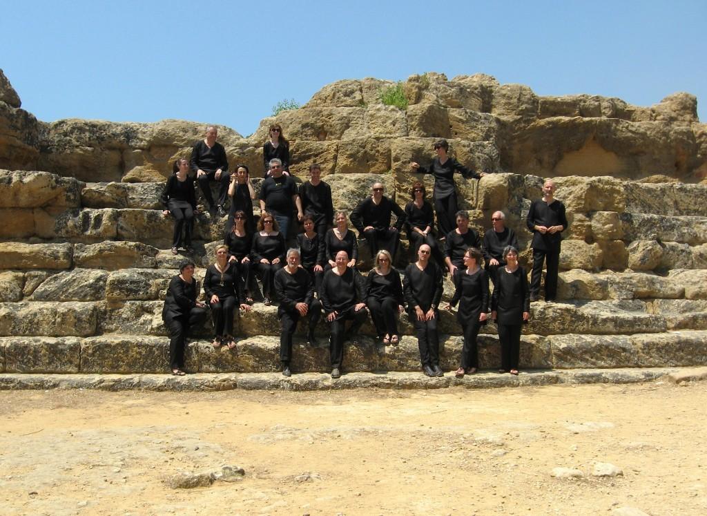 ZH2VOX nella Valle dei Templi (Agrigento)